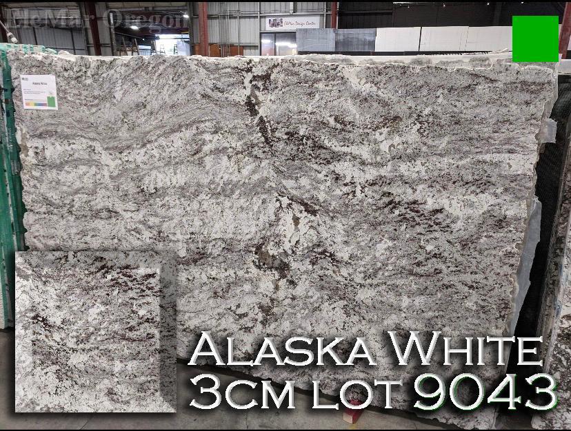 Alaska White Granite lot 9043