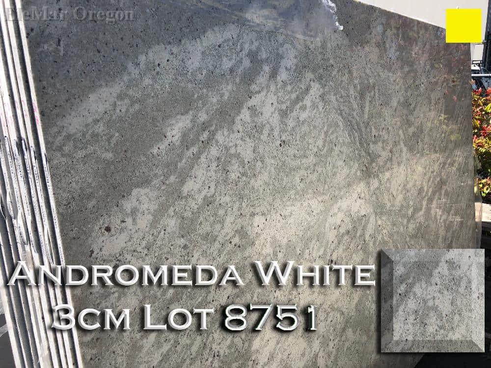 Andromeda White Granite lot 8751