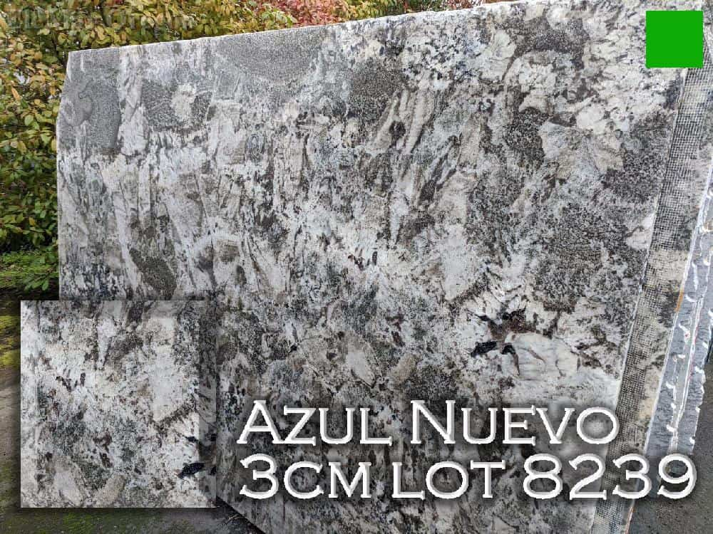 Azul Nuevo Granite lot 8239
