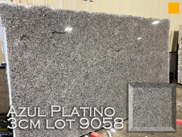 Azul Platino Granite lot 9058