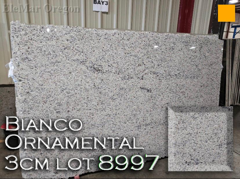 Bianco Ornamental Granite lot 8997