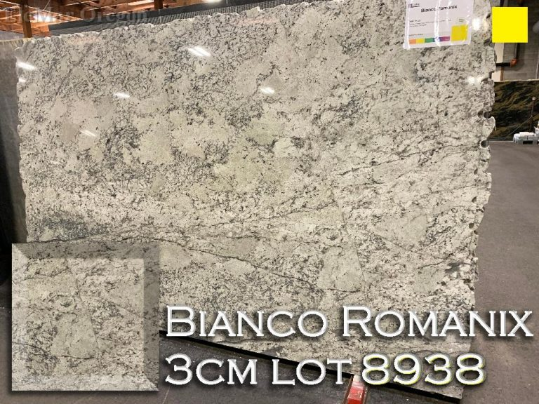 Bianco Romanix Granite lot 9838