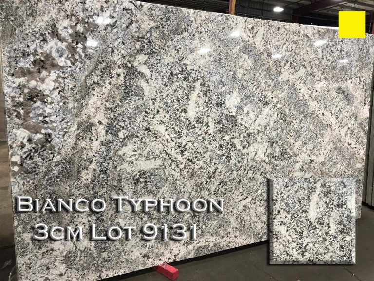Bianco Typhoon Granite lot 9131