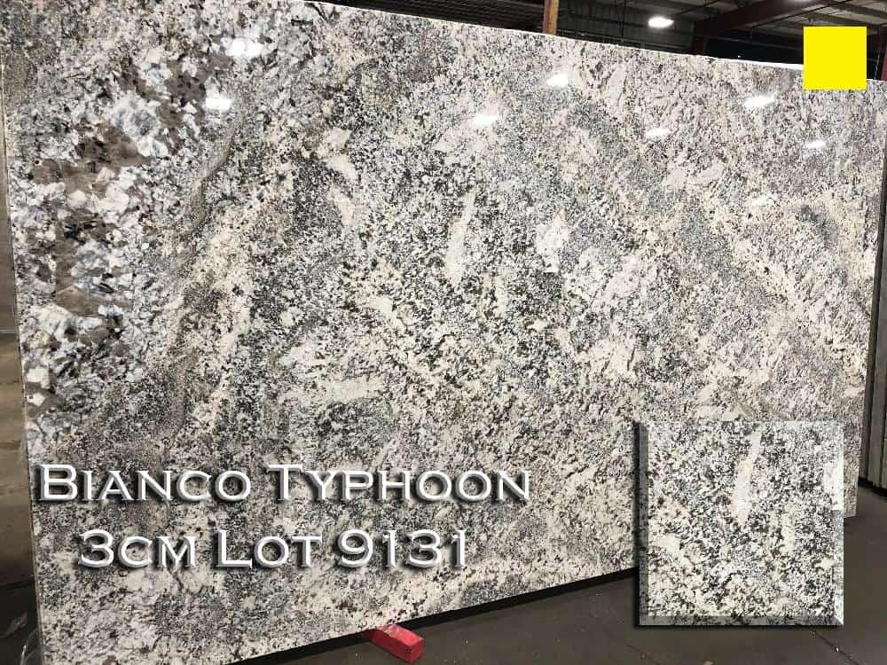 Bianco Typhoon Granite lot 9131