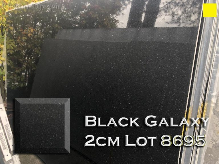 Black Galaxy Granite 2cm lot 8695