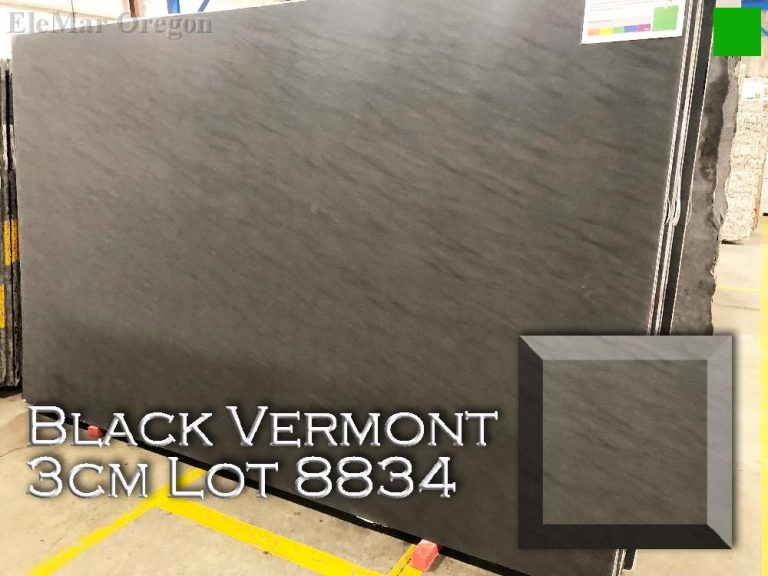 Black Vermont Granite lot 8834