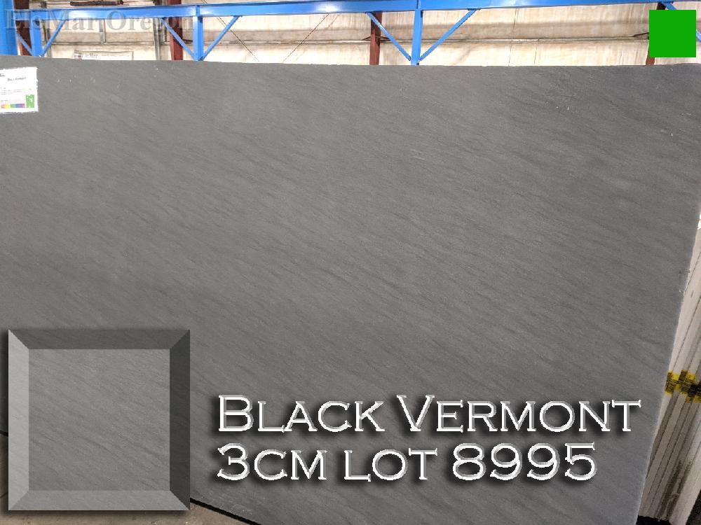 Black Vermont Granite lot 8995