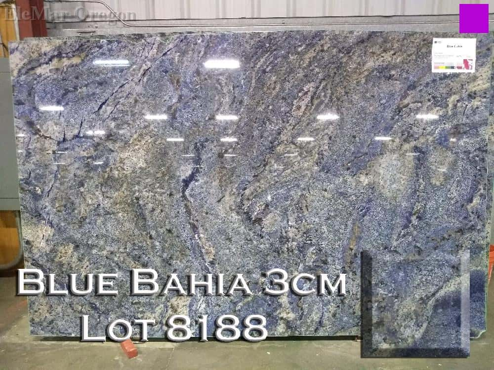Blue Bahia Granite lot 8188