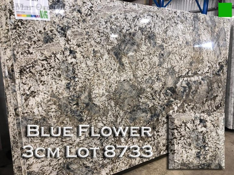 Blue Flower Granite lot 8733