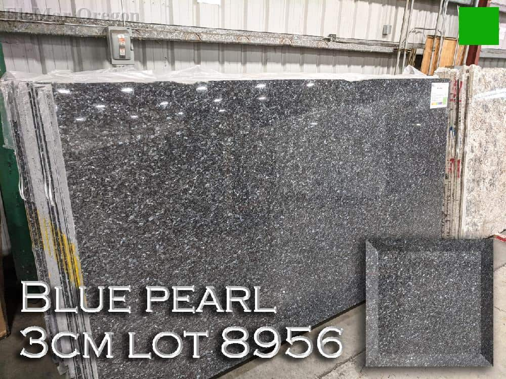Blue Pearl Granite lot 8956
