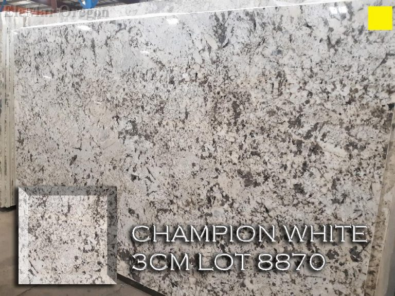 Champion White Granite lot 8870