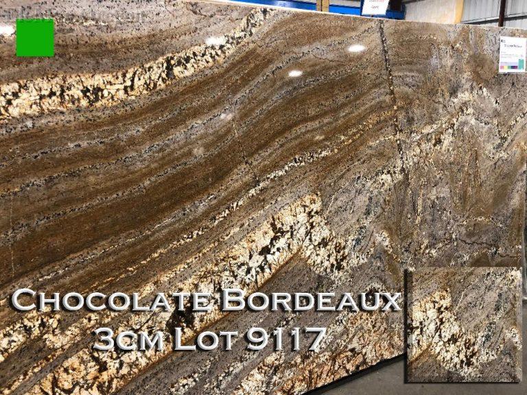 Chocolate Bordeaux Granite lot 9117