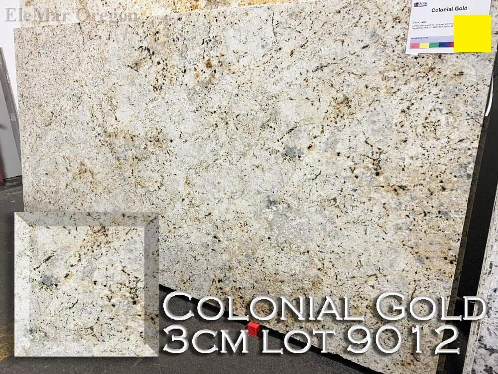 Colonial Gold Granite lot 9012