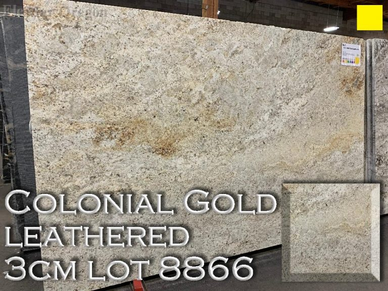 Colonial Gold Leathered Granite lot 8866
