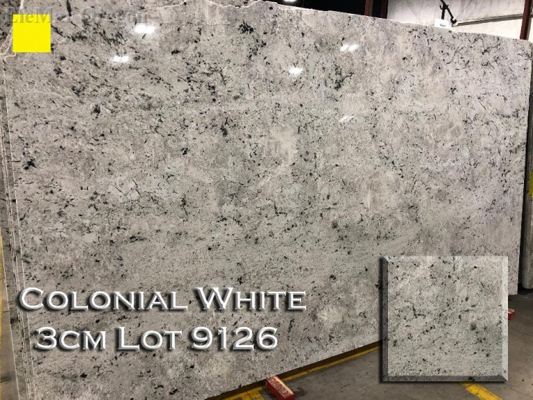 Colonial White Granite lot 9126