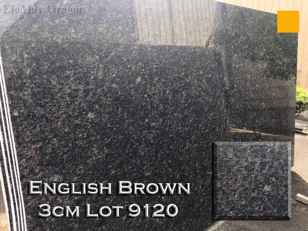 English Brown Granite lot 9120