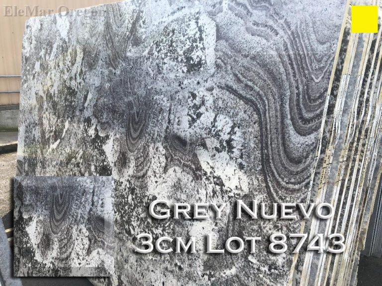 Grey Nuevo Granite lot 8743
