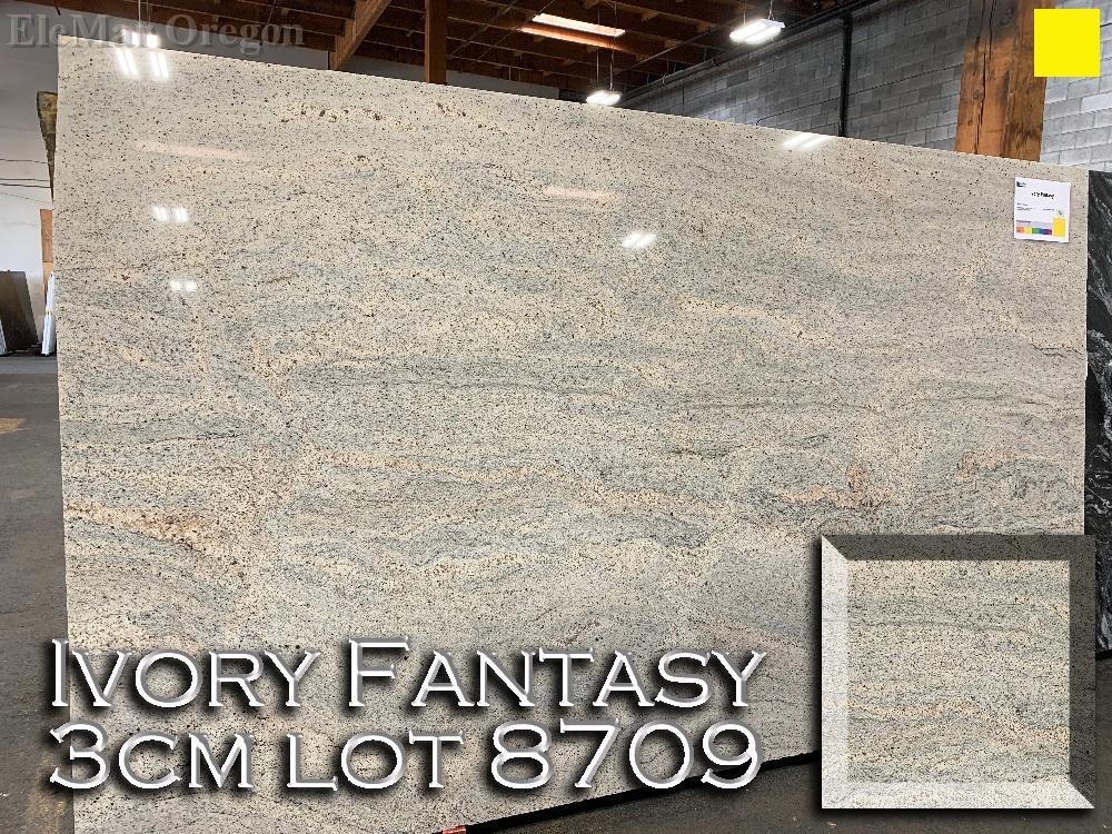 Ivory Fantasy Granite lot 8709