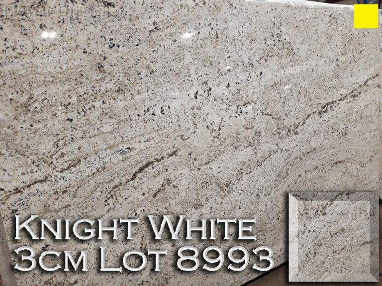 Knight White Granite lot 8993