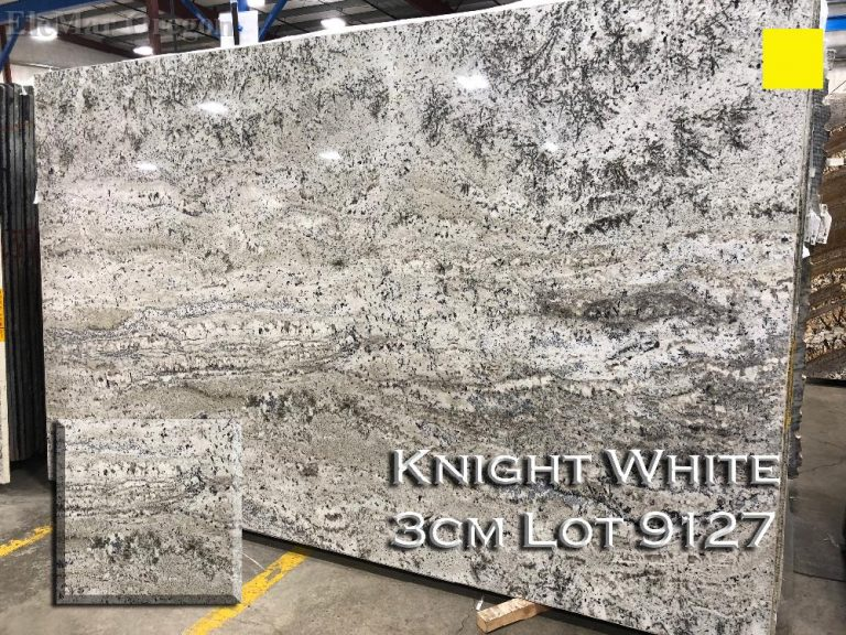 Knight White Granite lot 9127
