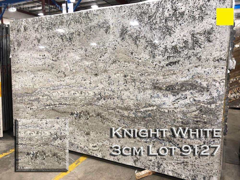 Knight White Granite lot 9127