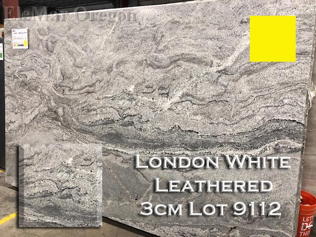 London White Granite Leathered lot 9112