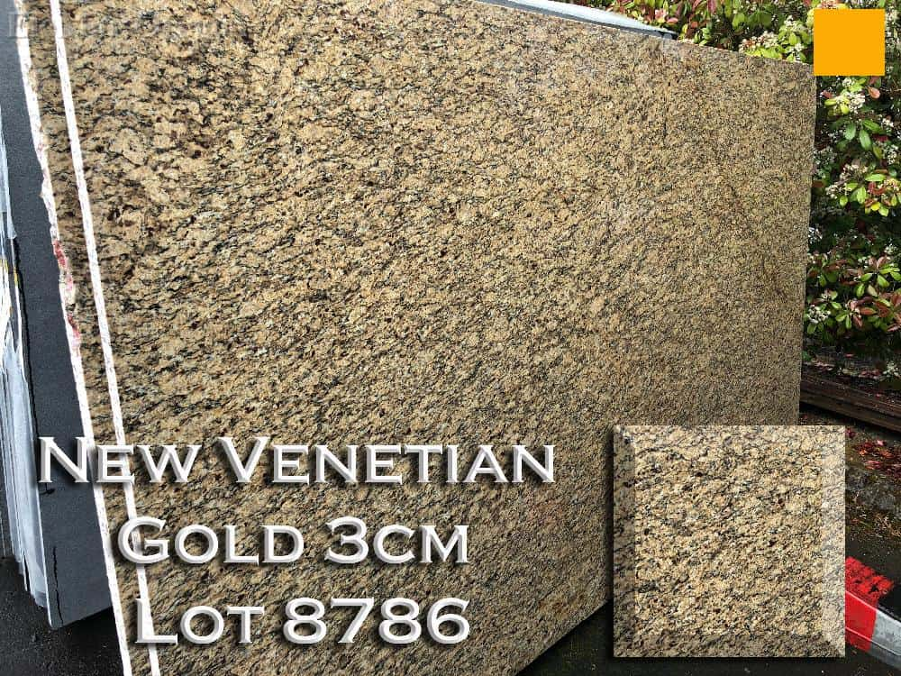 New Venetian Gold Granite lot 8785