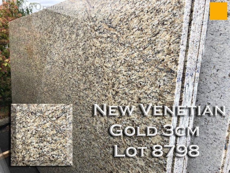 New Venetian Gold Granite lot 8798