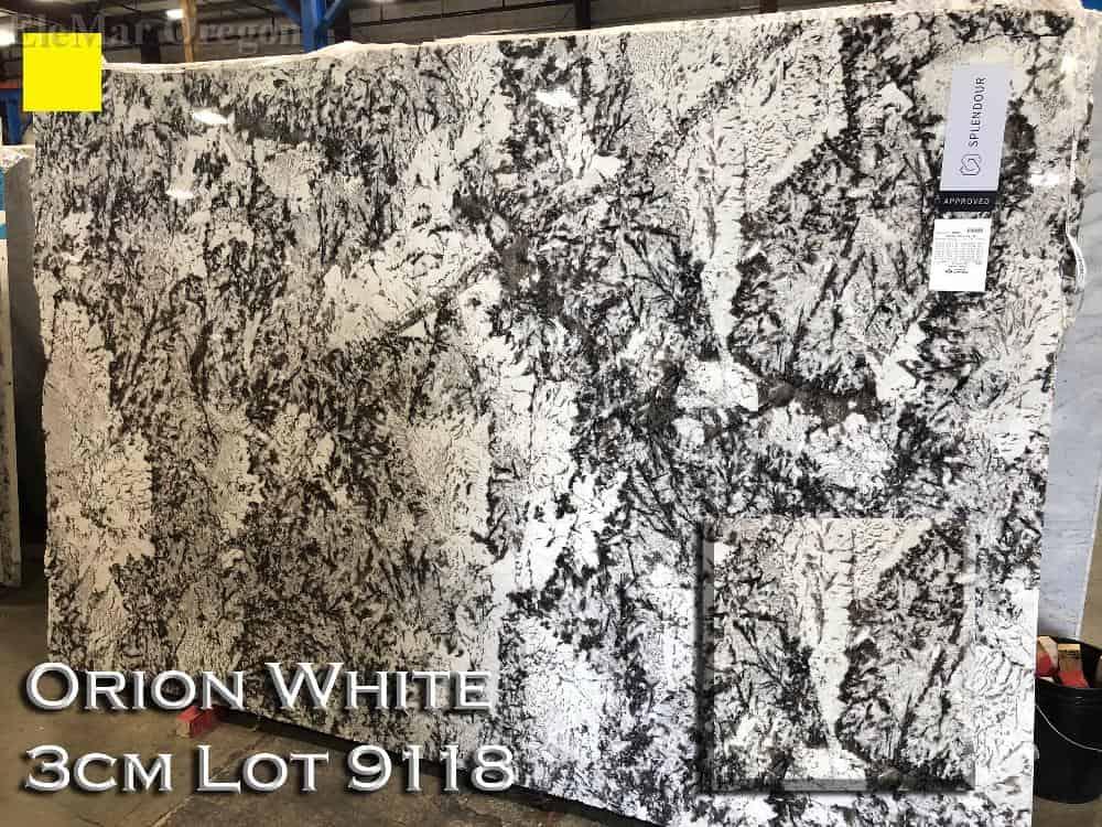 Orion White Granite lot 9118