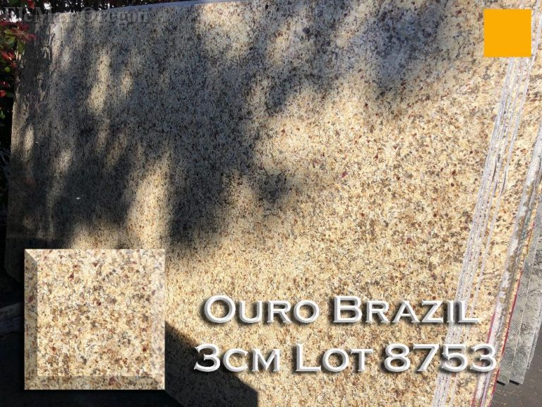 Ouro Brazil Granite lot 8753