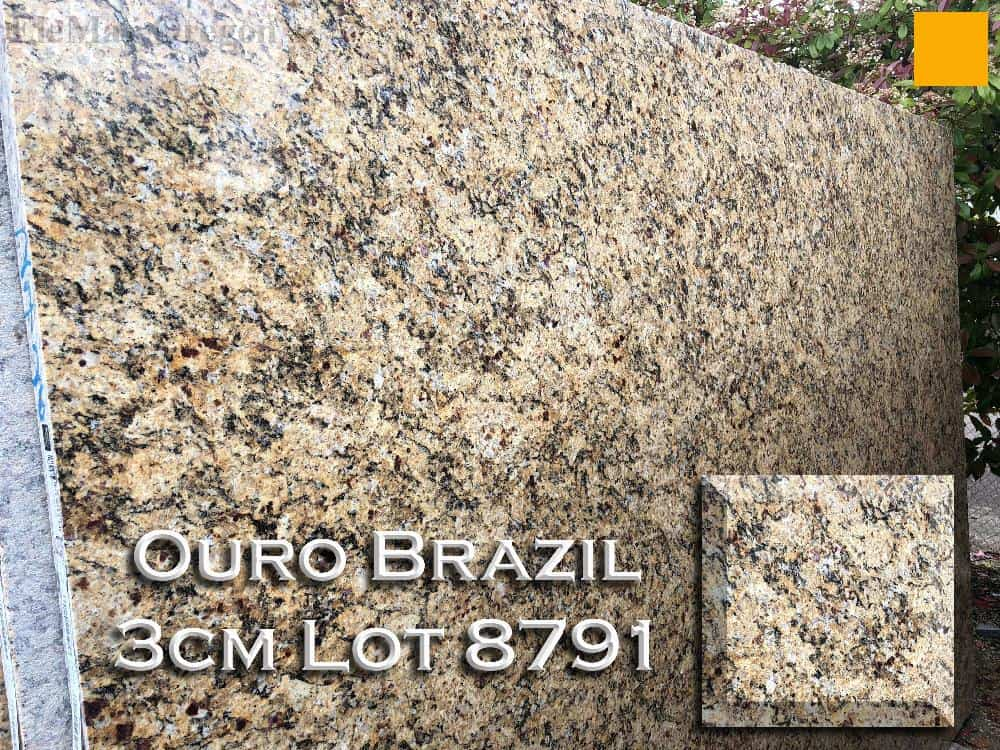 Ouro Brazil Granite lot 8791