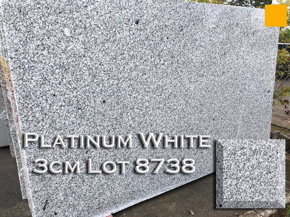 Platinum White Granite lot 8738