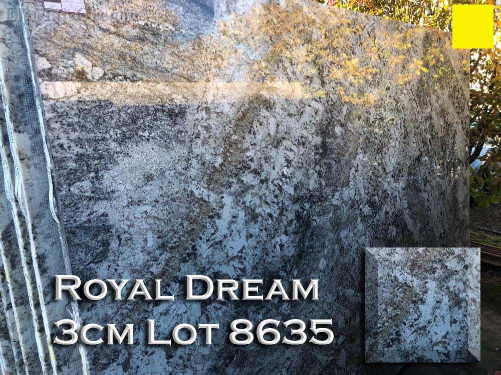 Royal Dream Granite lot 8635