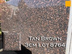 Tan Brown Granite lot 8764