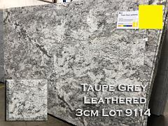 Taupe Grey Granite Leathered lot 9114