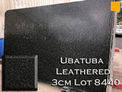 Ubatuba Leathered Granite lot 8440