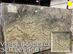 Verde Bordeaux Granite lot 9081