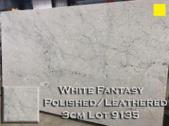 White Fantasy Granite lot 9135